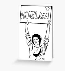 Dolores Huerta 'Huelga' Greeting Card