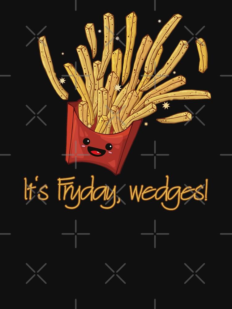 It's Fryday, wedges! von brainbubbles