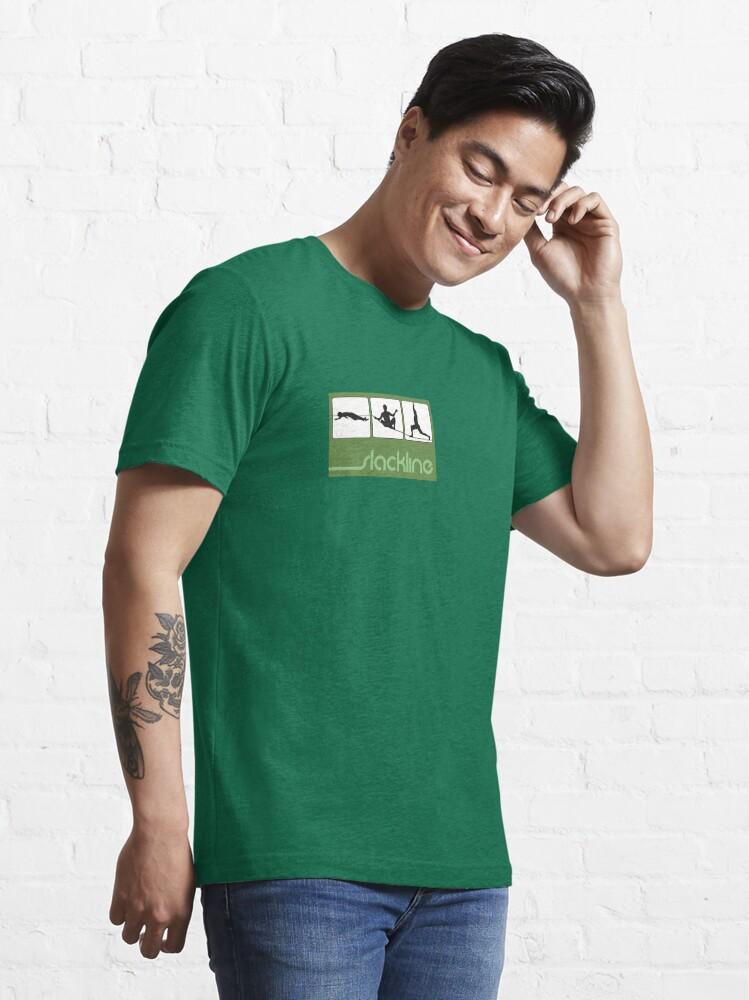Alternate view of Slackline- Yoga lining Essential T-Shirt