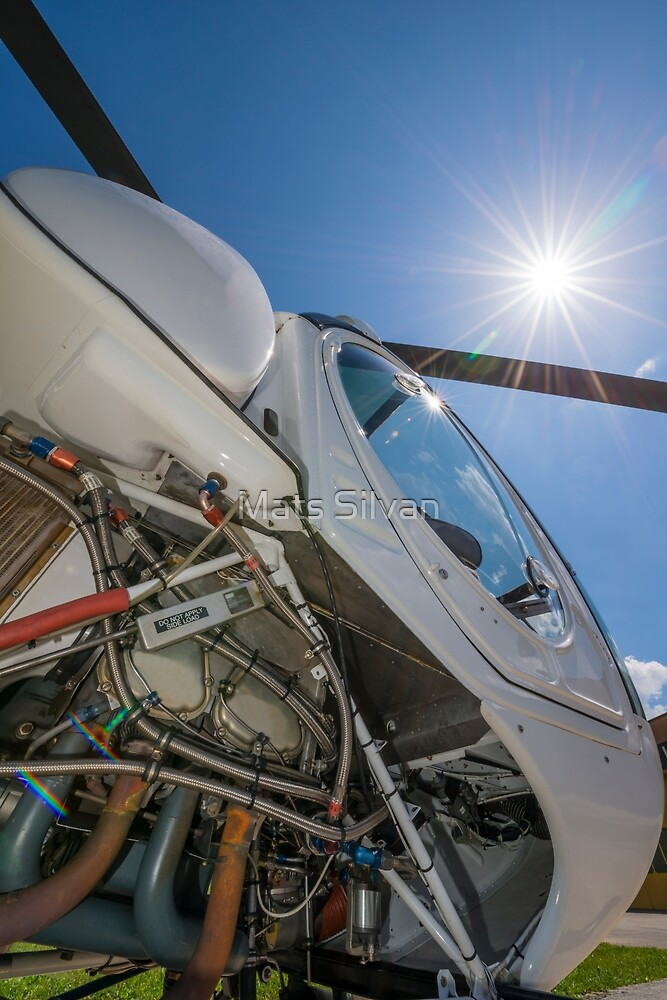 Helicopter by Mats Silvan