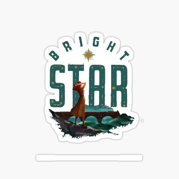 Bright Star - Musical Logo Sticker