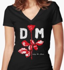 Devotee Rose Women's Fitted V-Neck T-Shirt