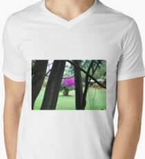 Flowering Tree, Jinja, Uganda Mens V-Neck T-Shirt