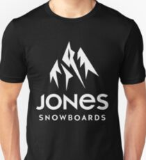jones snowboards apparel Unisex T-Shirt