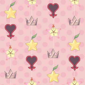 KH Destiny Trio Pattern - Pink by Roksva