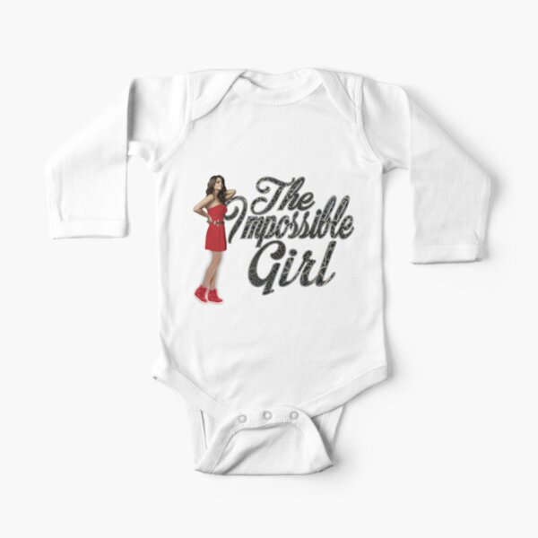 The Impossible Girl  Long Sleeve Baby One-Piece