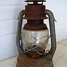 A Rusty Old Hurricane Lamp by hootonles