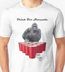 Drink for Harambe T-Shirt