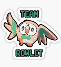 Team Rowlet Sticker
