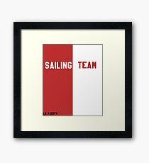 Lil Yachty Sailing Team Framed Print