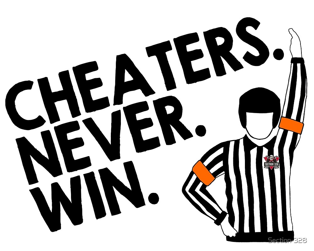 Cheaters Never Win Or Do They Term paper
