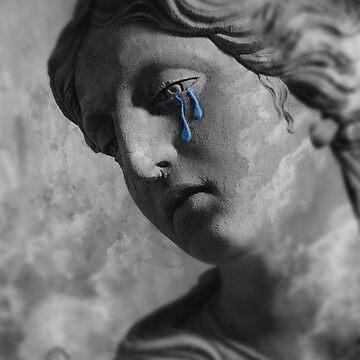 Sad Sculpture by Memegode