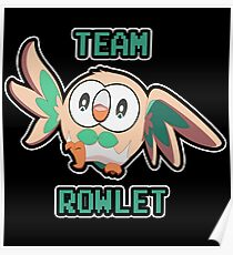 Team Rowlet Poster
