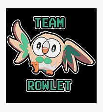 Team Rowlet Photographic Print