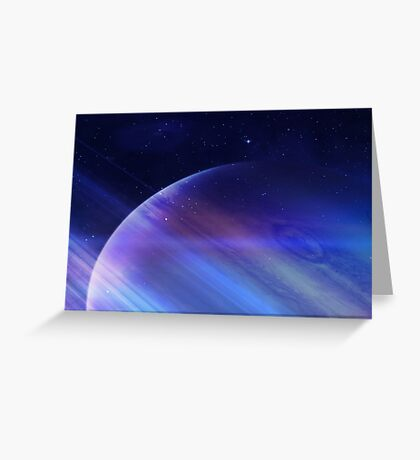 Secrets of the galaxy Greeting Card