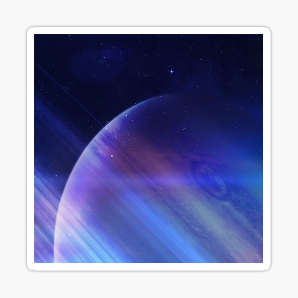 Secrets of the galaxy Sticker