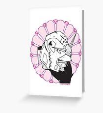 Gundam Buddha Greeting Card