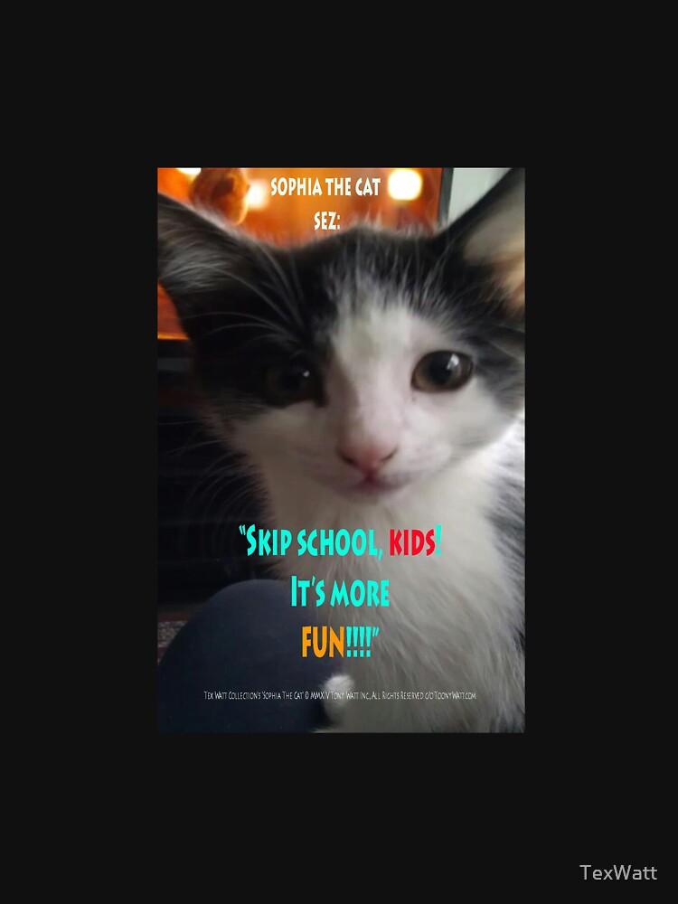 Sophia The Cat # 4 [Tex's Owner] by TexWatt