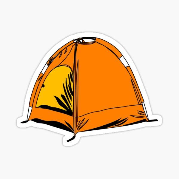 tent Sticker