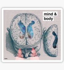 mind & body (none) Sticker