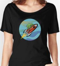 Camiseta ancha para mujer Espacio tardígrado: Intrepid Explorer