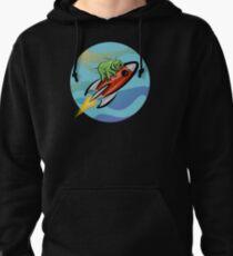 Space Tardigrade: Intrepid Explorer Pullover Hoodie