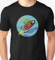 Space Tardigrade: Intrepid Explorer Unisex T-Shirt