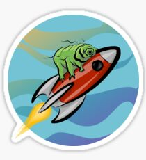 Space Tardigrade: Intrepid Explorer Sticker