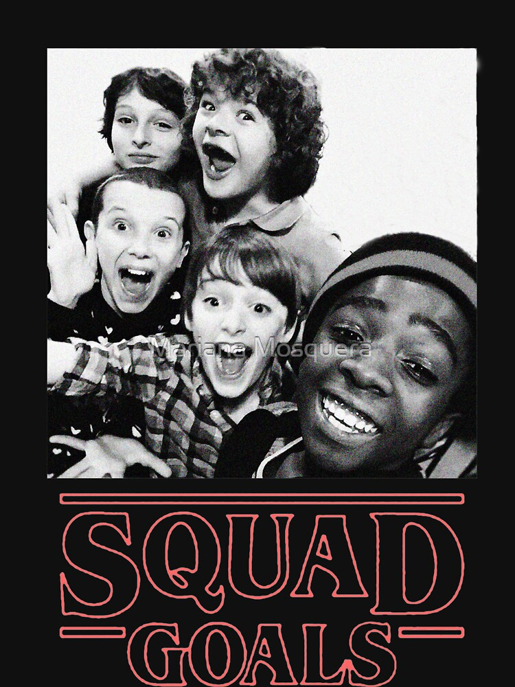 Stranger Things Squad Goals | Unisex T-Shirt