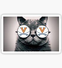 UVA Cat Sticker