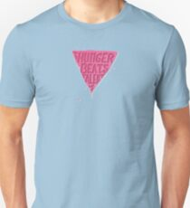 Hunger Beats Talent - Bubble Gum Pink T-Shirt