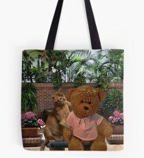 AW DON'T LOOK SO SAD TEDDY - LET ME GIVE U A HUG-PICTURE/CARD/PILLOW/TOTE BAG Tote Bag