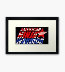 ninja warrior Framed Print
