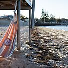 Seaside hammock by Rob Beckett