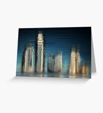 Golden Skyline © Vicki Ferrari Greeting Card