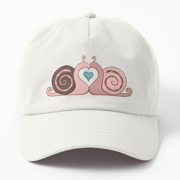 Snail Love Dad Hat