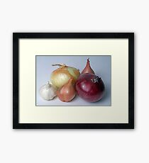 A Family Allium Framed Print