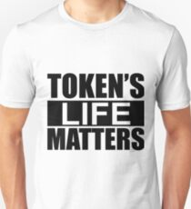 Token's Life Matters - South Park (Inverted Edition) Unisex T-Shirt