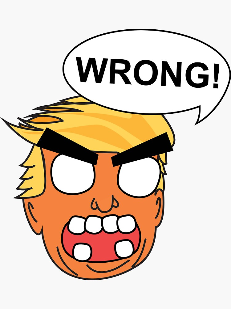 angry zombie trump is wrong again by shortstack