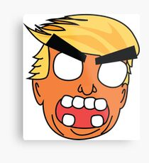 angry zombie trump Metal Print