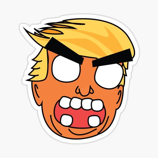 angry zombie trump Sticker