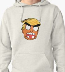angry zombie trump Pullover Hoodie