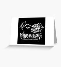 Miskatonic University Greeting Card