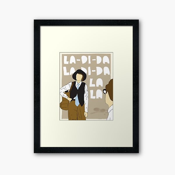 La Di Da Framed Art Print