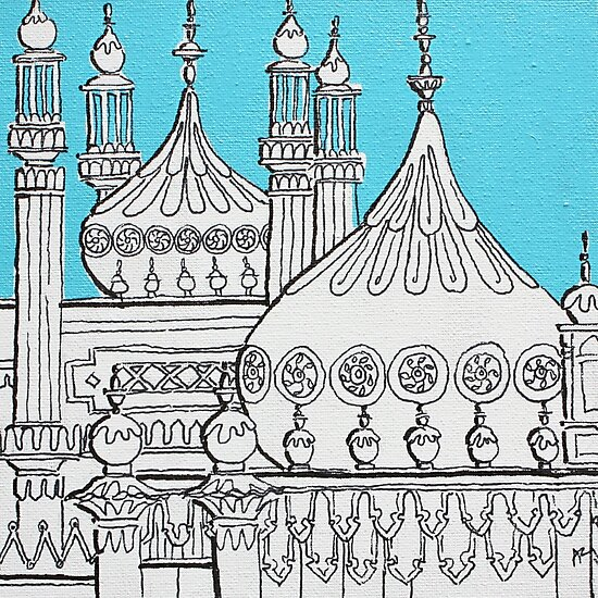 Blue Domes by Adam Regester