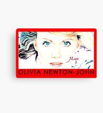 olivia newton john Canvas Print