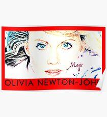 olivia newton john Poster
