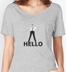 Hello- Book Of Mormon Women's Relaxed Fit T-Shirt