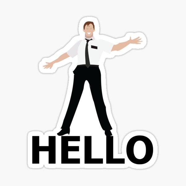 Hello- Book Of Mormon Sticker