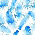 - Blue feathers - by Losenko  Mila